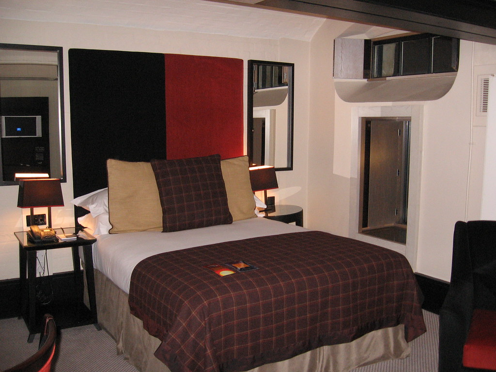 Malmaison Hotel Oxford Bedroom In Converted Cells Flickr