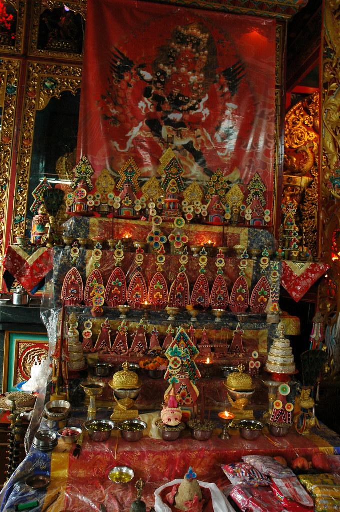 Shri Vajrakilaya Tantric Feast Offerings Torma Mandala