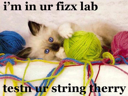kitten string theory