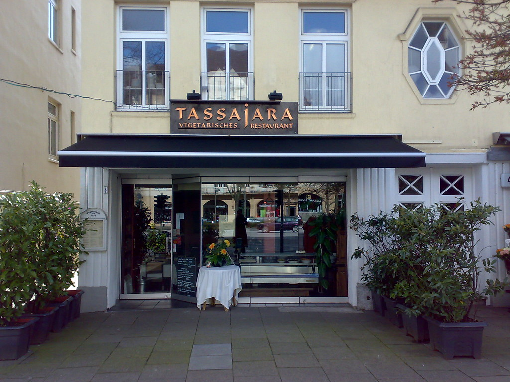 vegetarisches restaurant tassajara in hamburg eppendorf w flickr. Black Bedroom Furniture Sets. Home Design Ideas