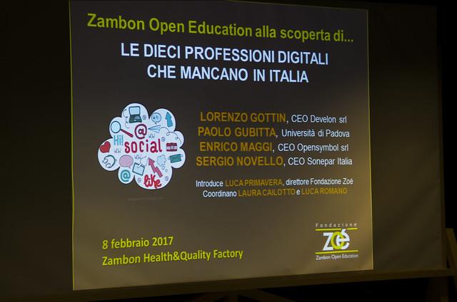 Zoé alla scoperta di... Le dieci professioni digitali che mancano in Italia
