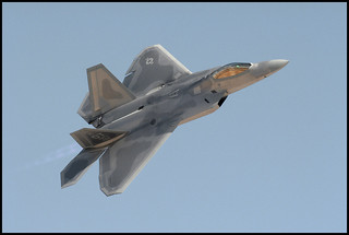 Lockheed F22 Fighter in Flight | by 50 Prime