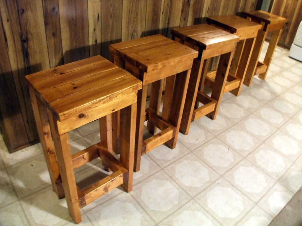 Five Fine Barstools In 2001 I Committed To Making One Of