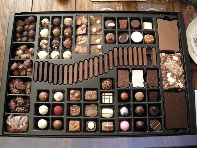 Biggest box of chocolates