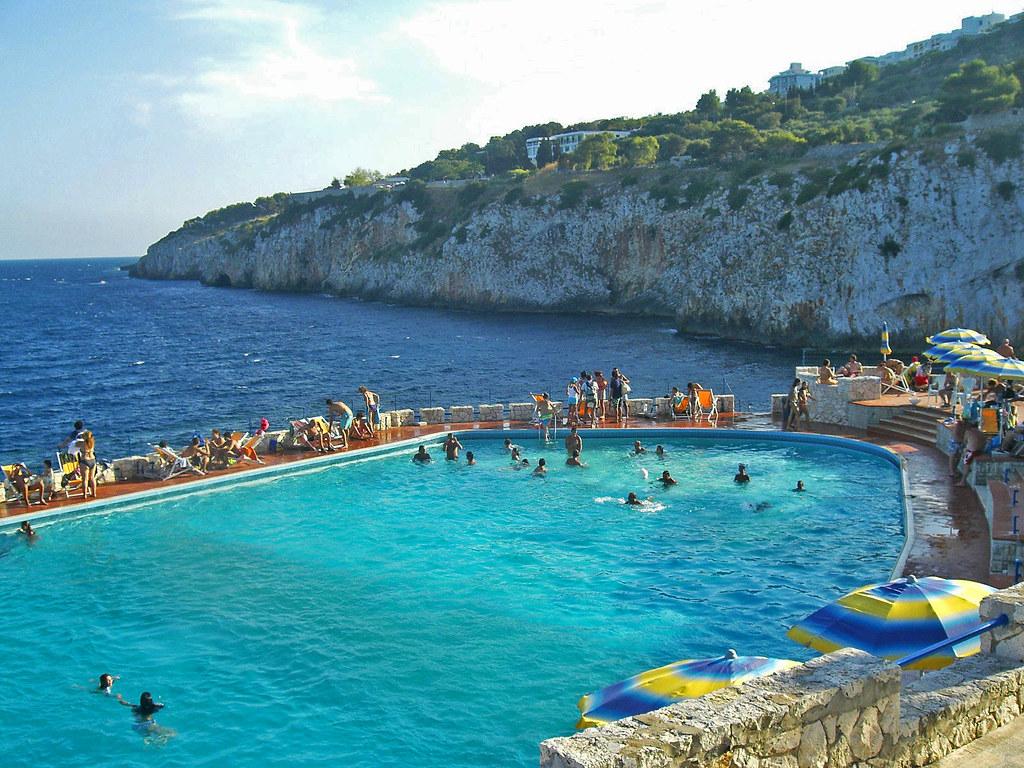 Zinzulusa piscina d 39 acqua salata andrea d 39 alba flickr - Piscina acqua salata ...