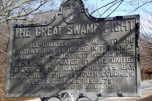 marker for great swamp fight leon reed flickr