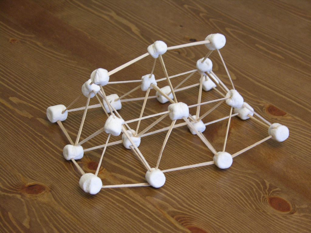 Image result for building with marshmallows and toothpicks