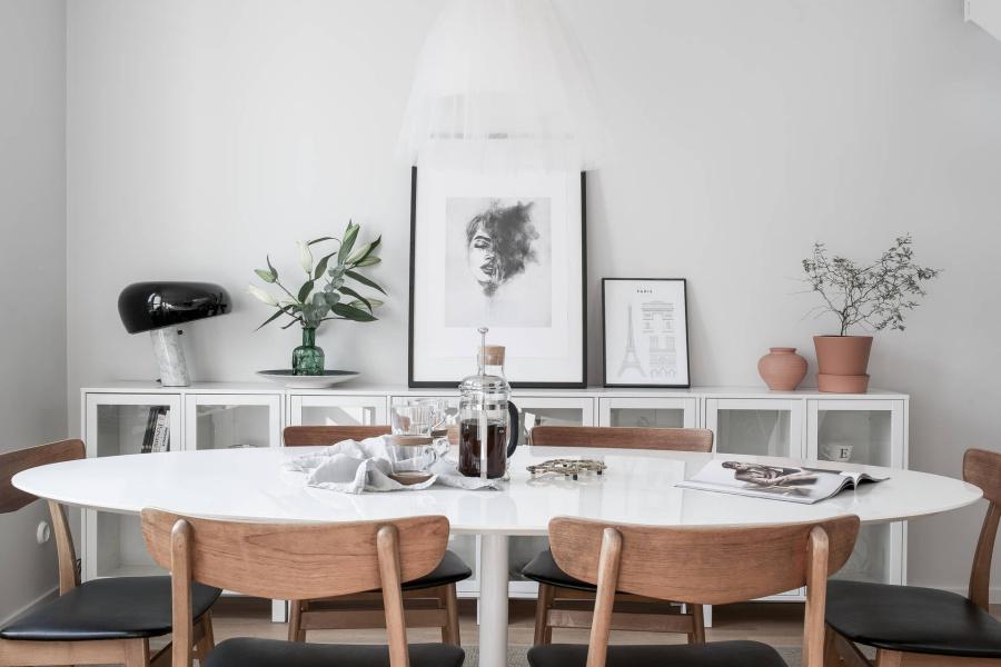 Scandinavian Home With A Stunning Grey Bedroom