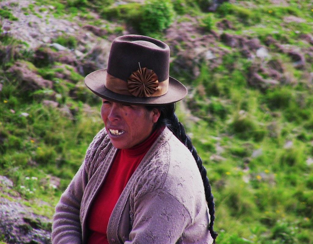 Peru Cusco Campesinofrau Schicker Hut Roba66 Flickr