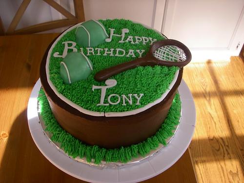 Nadal Birthday Cake