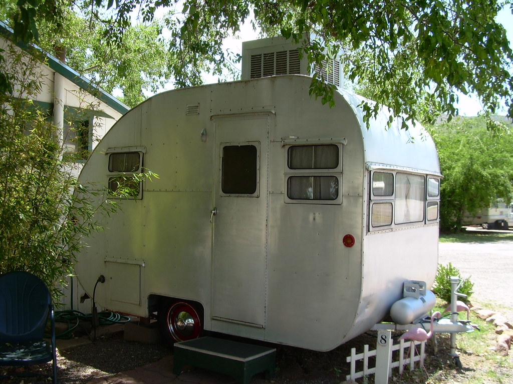 camper photos Vintage home made