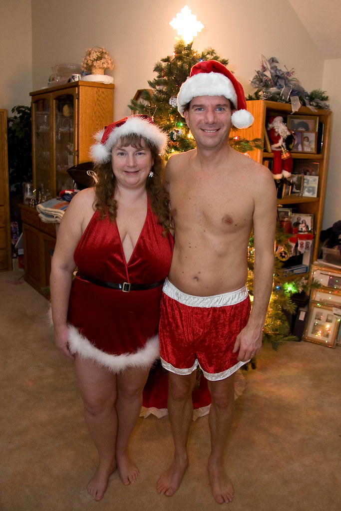 Christmas Couple 2007  Additional Posing With Some Cute -4256