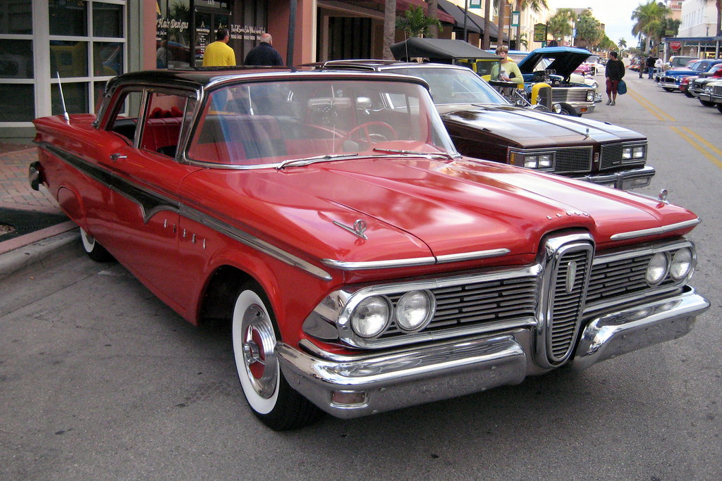 Florida - Fort Pierce - Classic Car Show - 1959 Ford Edsel… | Flickr