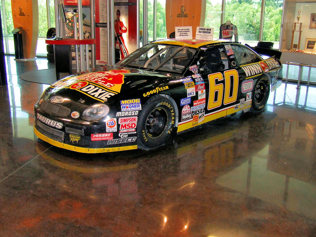 Mark Martin S Winn Dixie Busch Car The Baddest Of The