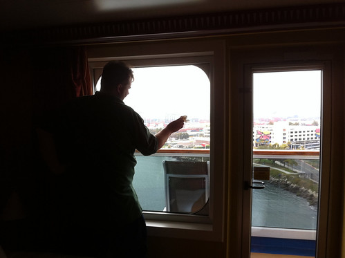 Carnival Splendor - Mike's Now-Traditional Window Wash | by Miss Shari
