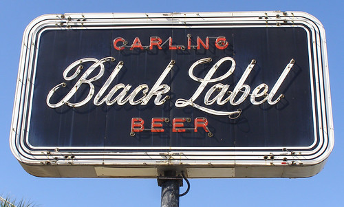 Carling Black Label Beer | by RoadsideArchitecture.com