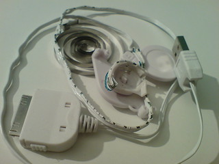 Melted Networx iPod Dock Connector Cable after used with an iPod Touch | by bjoern