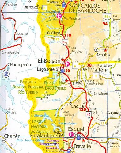 Mapa De Rutas De Las Prov 237 Ncias De R 237 O Negro Y Chubut Par