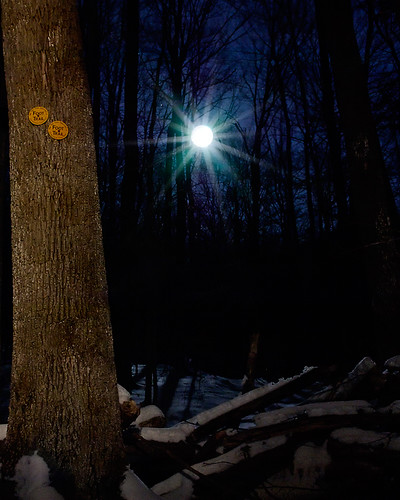 Painting With Light...Moonrise Over Buck Mountain | by Mountain Visions