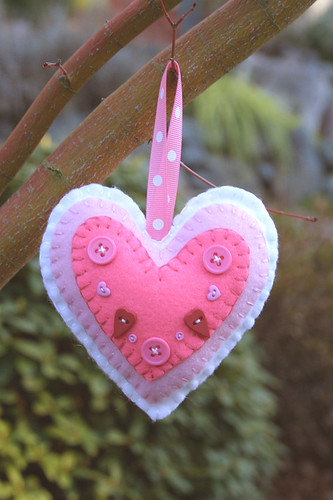 Heart Valentine ornament | by twiddletails