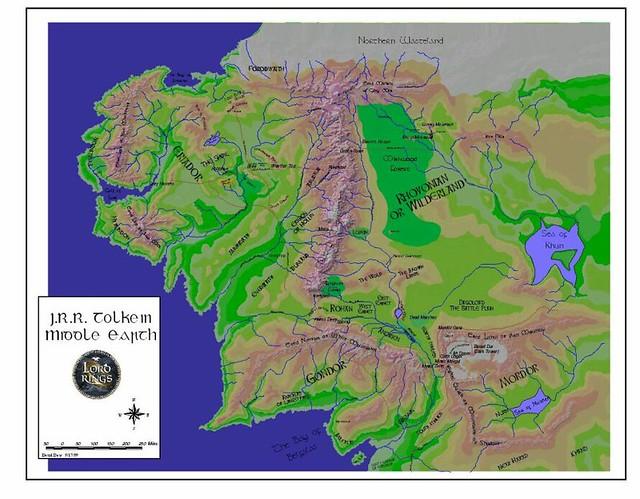 middle earth by breglad45 middle earth by breglad45