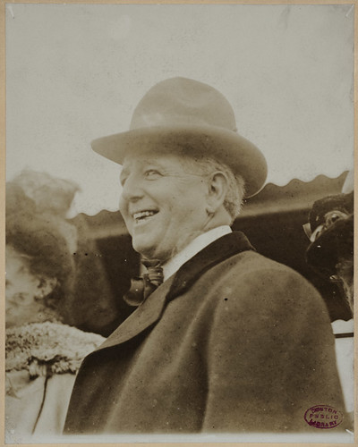 Charles Comiskey, owner of the Chicago White Sox | by Boston Public Library