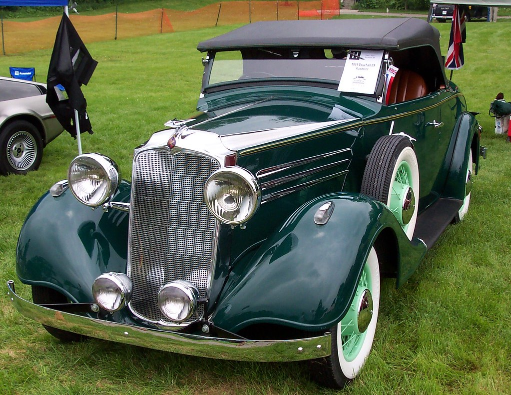 Vauxhall Holden Bodied Vauxhall At The Orphan Car Show John Lloyd Flickr
