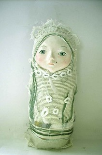 O, cloth doll | by Paola Zakimi