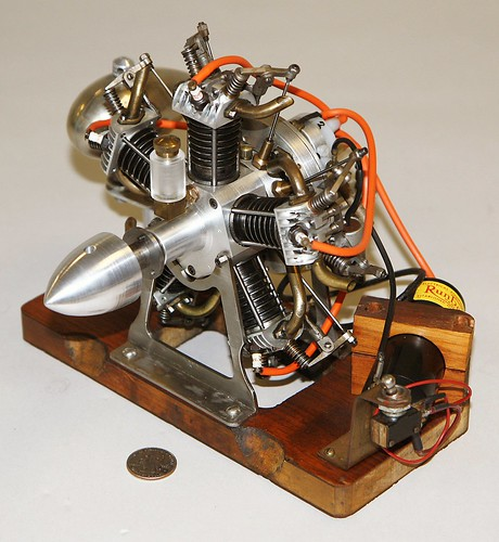Feature 5 Cylinder Radial Engine World S Smallest Internal