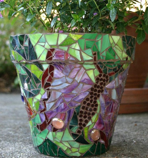 Mosaic Pot jackienoyes Flickr