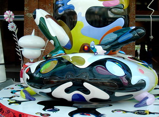 "Murakami's ""Mr. Pointy"" at the Brooklyn Museum 