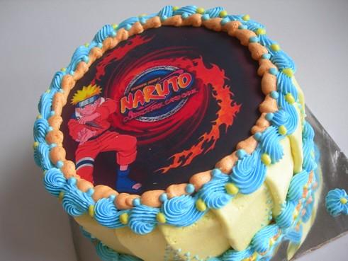 Birthday Cake Naruto