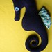 Blue Cashmere Mama Seahorse, the 2nd