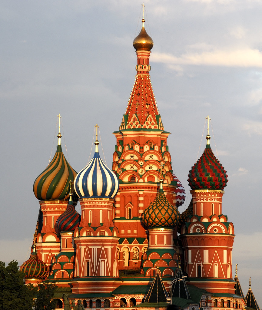 St. Basil\u0027s Cathedral in Moscow | The front of St. Basil\u0027s C\u2026 | Flickr