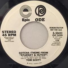 TOM SCOTT:GOTCHA(LABEL SIDE-B)