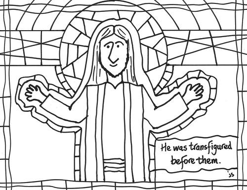 Transfiguration B&W