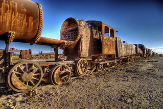 Train on desert | by wili_hybrid