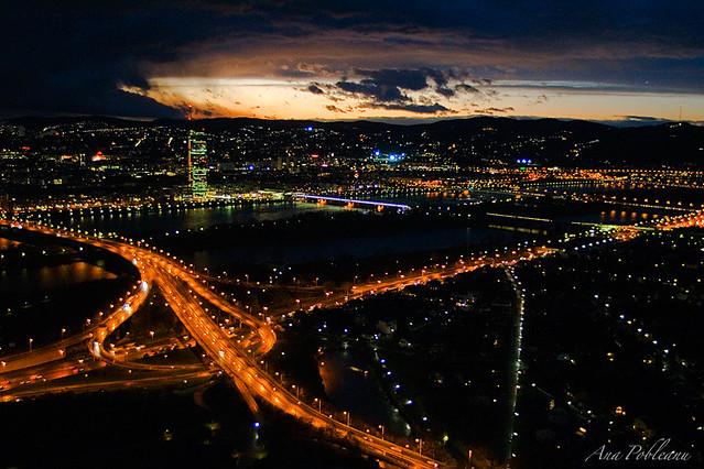 Vienna by night | Ana Pobleanu | Flickr