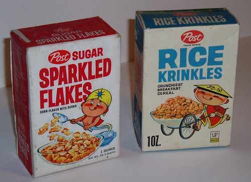 Sparkeled Flakes & Rice Krinkles | by grickily
