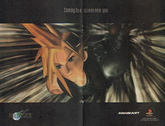 PS1 Final Fantasy VII advert | by goggle5