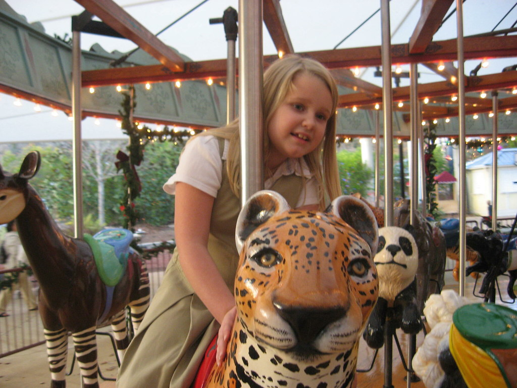 c146db70cf0b Tiffany rode the cheetah - one of her favorite s.