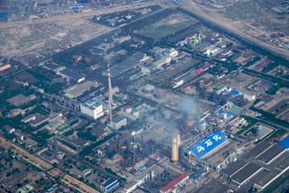 Factories at Urumqi | by etherflyer