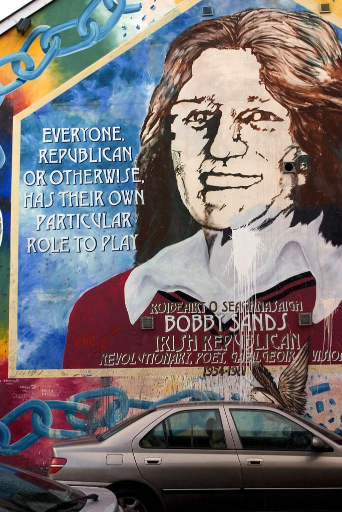 Bobby sands mural falls road belfast jimmy harris flickr for Bobby sands mural falls road