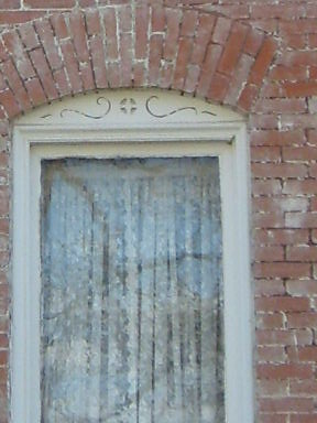 Window 1894 Window To The House That The Stable
