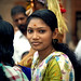 Beautiful woman in Thallichery - India