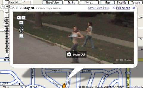 Google Maps Street View Flasher Booble Maps Street View