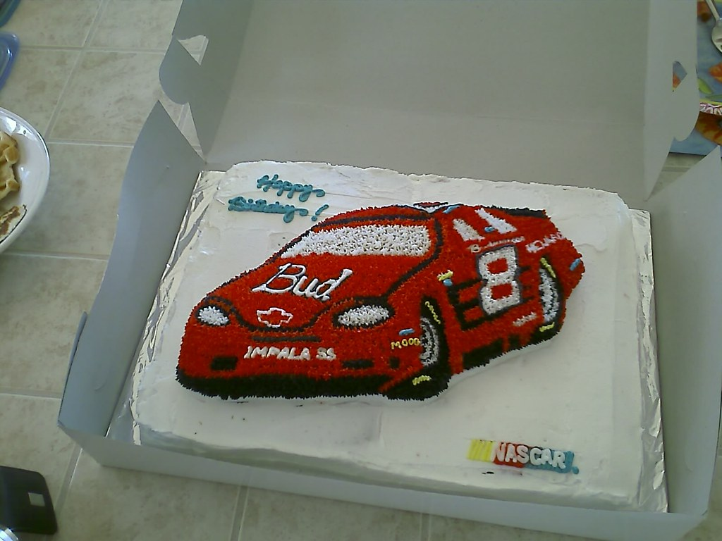 Nascar Birthday Cake Pictures