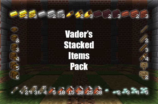 Vader's Stacked Items Pack     - Texture Packs - Minecraft - CurseForge