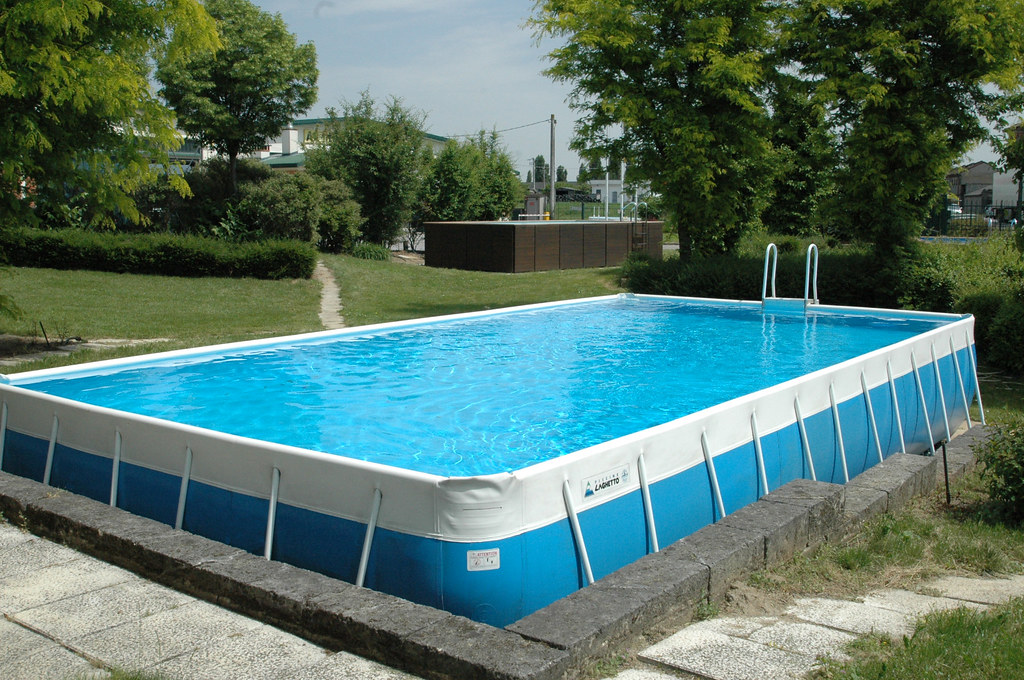 Piscina europe gold 47 piscina laghetto europe gold 4 00 - Piscina interrata piccola ...