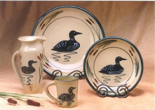 Loon Dinnerware | Salt Glazed dinnerware made in Maine. The … | Flickr
